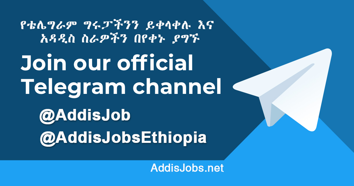Driver Jobs in Addis Ababa