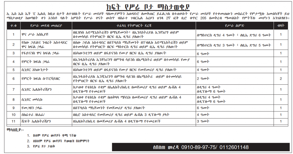 Multiple Jobs in Addis Ababa Ethiopia – Driver, Welder