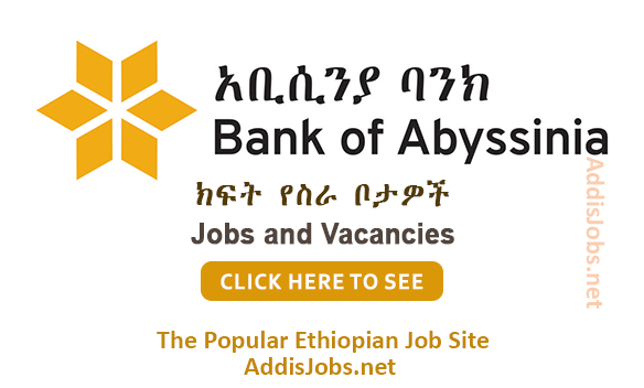 Bank of Abyssinia | AddisJobs