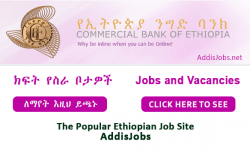 Bank Trainee - Commercial Bank of Ethiopia